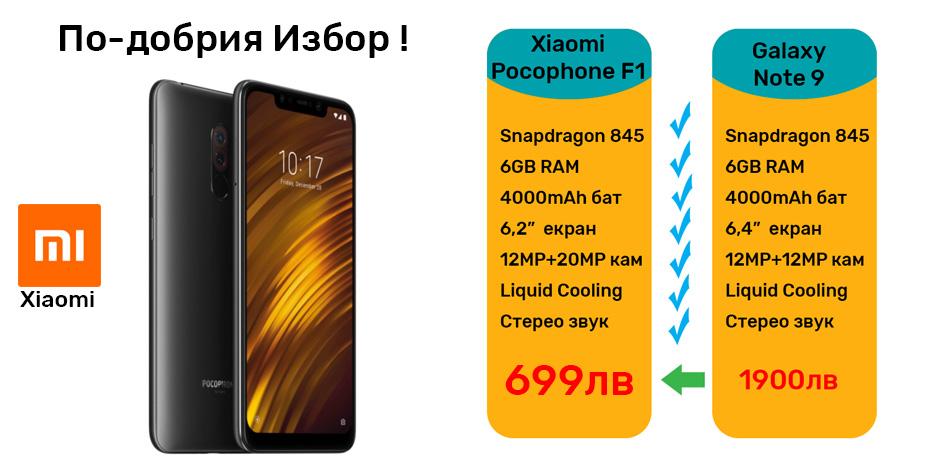 Xiaomi PocoPhone F1 цена