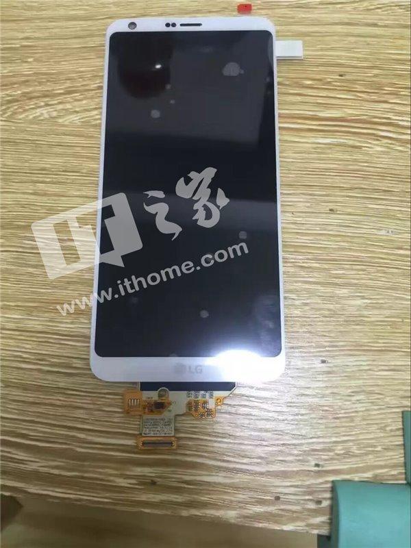 LG G6  в бял цвят