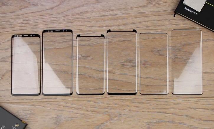 Стъклото за Samsung Galaxy S10 и S10 +: сравнение с Galaxy S9 на видео