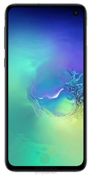 Скенерът за пръстови отпечатъци на Samsung Galaxy S10e отблизо