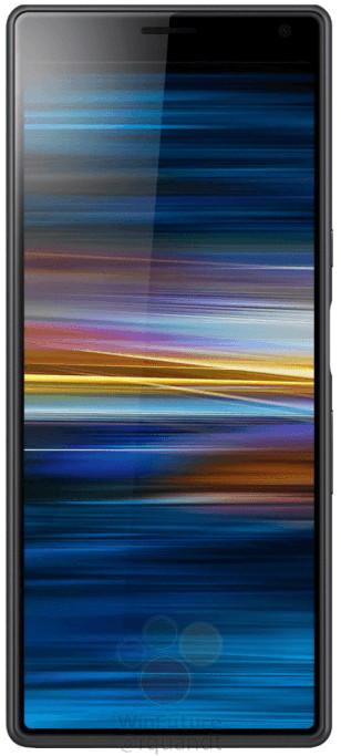 Sony Xperia XA3 с екран 21: 9 без дъно в снимки