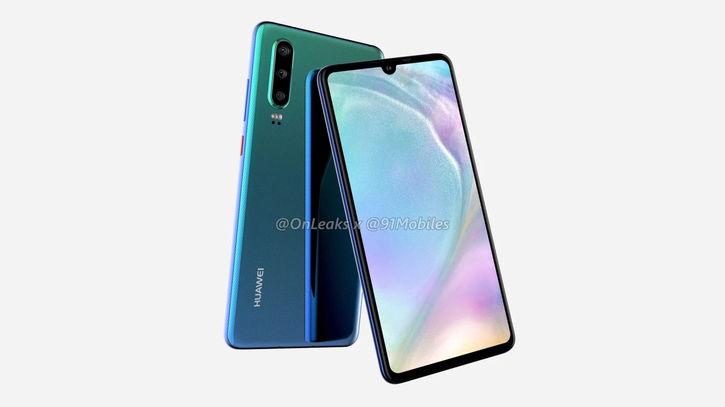 Huawei P30: място и дата на обявяването