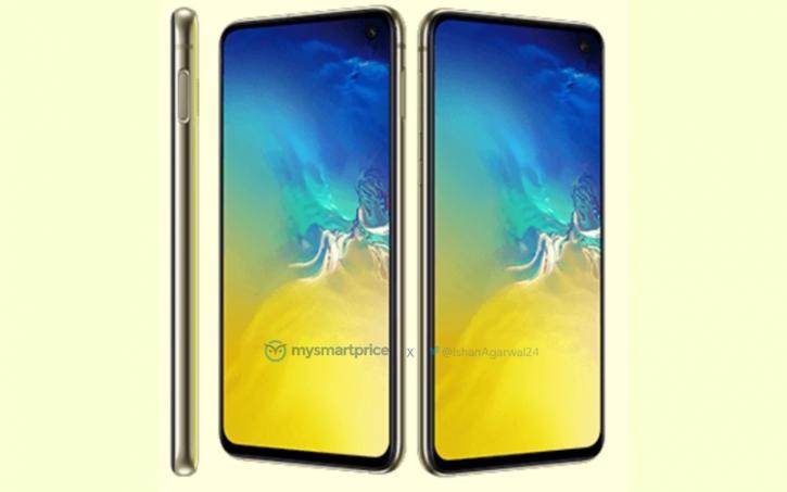 Ярко жълтият Samsung Galaxy S10e за първи път в снимки