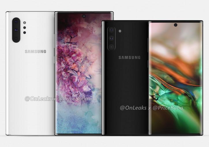 Samsung Galaxy Note 10 и Note 10 Pro ще получат една и съща батерия
