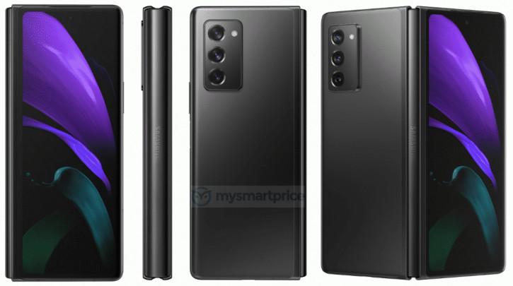 Дизайнът на Samsung Galaxy Z Fold 2 вече е напълно разкрит