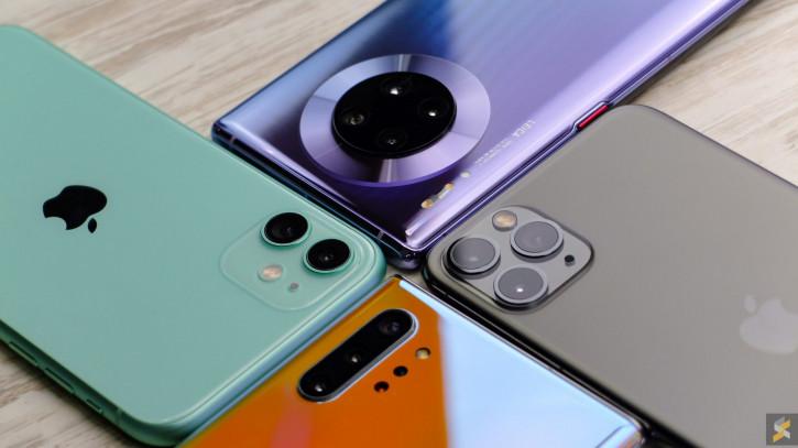 Топ 5 марки смартфони за Q2 2020
