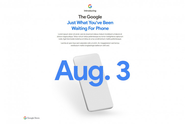 Официално: Google Pixel 4a ще бъде представен в понеделник