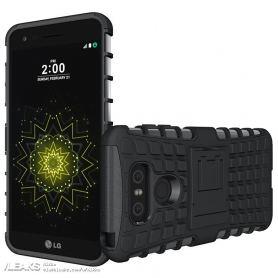 Рендер нa LG G6 в защитен кaлъф