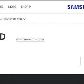 Samsung Galaxy S8 + се появи в официалния сайт в Индия