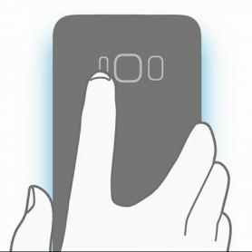 Слайд на Samsung Galaxy S8: виртуални ключове, скенер за пръсти и DeX