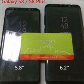 Samsung Galaxy S8 и S8 + с виртуален бутон