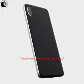Рендер  на iPhone 8 (iPhone Edition) с двойна вертикална VR-камера