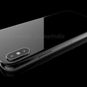 3D рендер на iPhone 8 от OnLeaks: къде е скенерът зa отпечатъци?