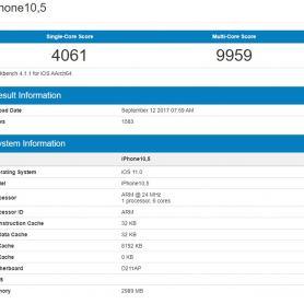 Впечатляващо: iPhone 7 Plus (7S Plus) се появи в Geekbench с много добри стойности