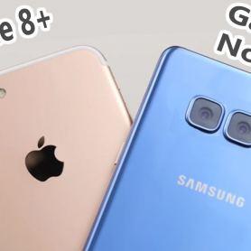 Samsung Galaxy Note 8 и iPhone 8 Plus се сравняват по рейтинга на камерите