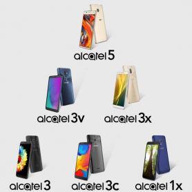 Снимка на  Alcatel 1X, 3, 3C, 3X, 3V, 5: от бюджетните версии до флагмана