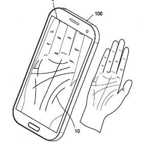Samsung патентова дланени скенери за смартфони