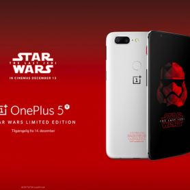 OnePlus 5T Star Wars Limited Edition ще пристигне в Европа