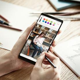 Samsung Galaxy Note 9 – снабден с доста голяма батерия