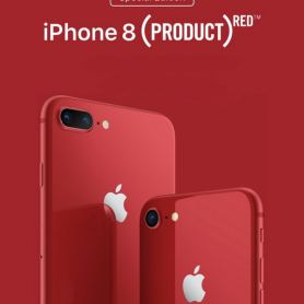 Apple представи червения iPhone 8 и iPhone 8 Plus (PRODUCT) RED