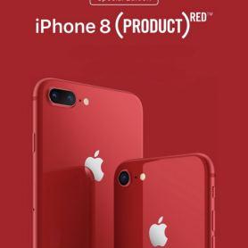 Apple представи червения iPhone 8 и iPhone 8 Plus (PRODUCT) RED