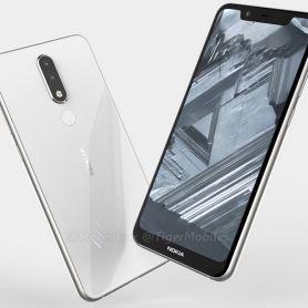 CAD изображения и размери на Nokia 5.1 Plus (видео)