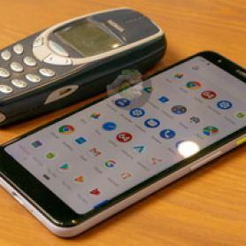 Google Pixel 3 Lite в сравнение с iPhone XS, XR и Nokia 3310 на снимки