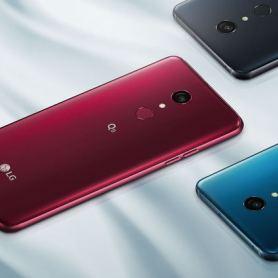 Обявяване на LG Q9: познат среднокласов с Quad HD + и Snapdragon 821