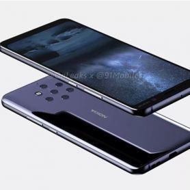Три опции за анимация на скенер за пръстови отпечатъци в екрана на Nokia 9 PureView