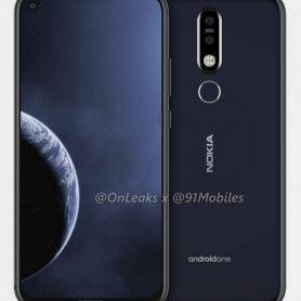 """Виуализация и 3D модел на Nokia 8.1 Plus с """"отвор"""" на екрана"""