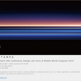 Sony кани на събитието MWC 2019: датата на обявяването на Xperia XZ4