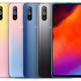 Samsung Galaxy A8s има нови градиентни цветове