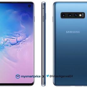 Синият Samsung Galaxy S10 и S10e с публикувани снимки