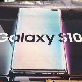 Плакат на Samsung Galaxy S10 + потвърди дизайна