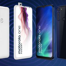 Motorola One Fusion + анонс: прибираща се предна камера и четири основни камери