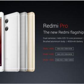 Xiaomi Redmi Pro - официално с Helio X25 SoC и двойна настройка на камерата