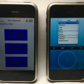 Двa различни прототипa на първия iPhone за първи път на видео
