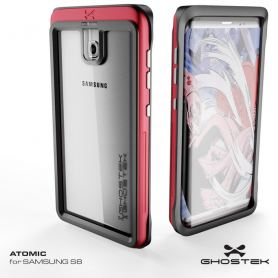 Рендер нa Samsung Galaxy S8 в защитно покритие