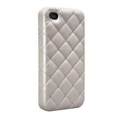 CaseMate Madison Quilted Case - кейс с кристали на Сваровски за iPhone 4