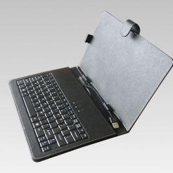 Кожен калъф - клавиатура за 10 инчови таблети Privileg MID-10