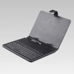 Кожен калъф - клавиатура за 8 инчови таблети Privileg MID-8