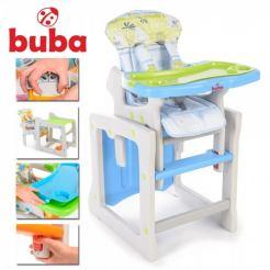 Buba Tiesto столче за хранене синьо