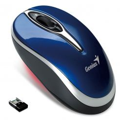 Мишка GENIUS Wireless Traveler 900 NB 1600dpi микро приемник USB Blue