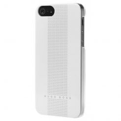HUGO BOSS Dots Hardcover White - луксозен кейс за iPhone 5