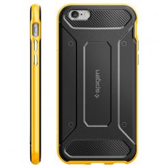 Spigen Neo Hybrid Carbon REVENTON YELLOW - кейс с елементи на карбон и висока степен на защита за iPhone 6, iPhone 6S (черен-жълт)