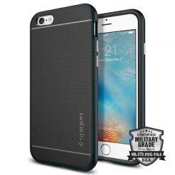 Spigen Neo Hybrid Case - хибриден кейс с висока степен на защита за iPhone 6, iPhone 6S (черен-тъмносин)