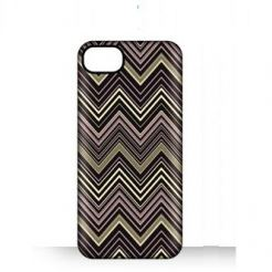 Griffin Chevron - дизайнерски поликарбонатов кейс за iPhone 5 (черен)