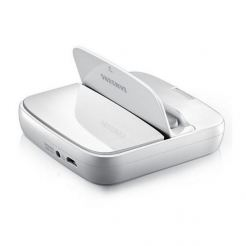 Samsung Docking Station D200 - док станция за Samsung Galaxy S3, S4 и Galaxy Note 2 (бяла)