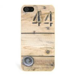 Tucano Delicatessen Wood Box - поликарбонатов кейс за iPhone 5