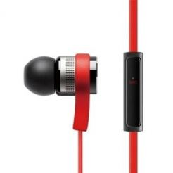 Elago E6M Control Talk In-Ear Earphones - слушалки с микрофон за iPhone, iPad, iPod и мобилни устройства (червени)